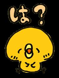 ひよこ_疑問