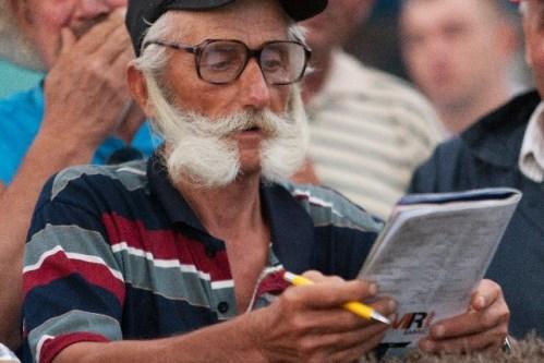 セルビアの老人