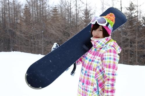 スキー場にて197