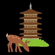 奈良イラスト