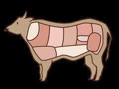 牛肉イラスト